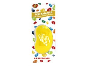 Vůně do auta Jelly Belly 3D Air Freshener Top Banana Banán, 1 ks