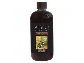 Náplň do aroma difuzéru NATURAL Santalové dřevo a bergamot, 500 ml