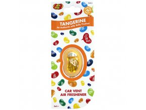Vůně do auta Jelly Belly Vent Clip Tangerine Mandarinka, 1 ks