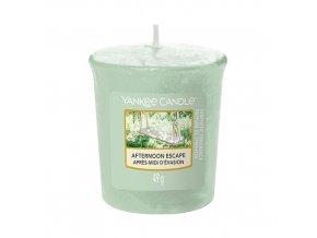 Votivní svíčka Yankee Candle Odpolední únik Afternoon Escape, 49 g