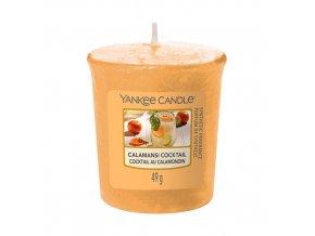 Votivní svíčka Yankee Candle Calamansi koktejl, 49 g