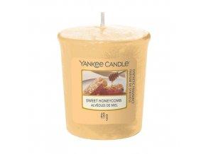 Votivní svíčka Yankee Candle Sladká plástev Sweet Honeycomb, 49 g
