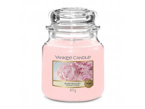 Vonná svíčka ve skleněné dóze Růžolící kytice BLUSH BOUQUET, 411 g