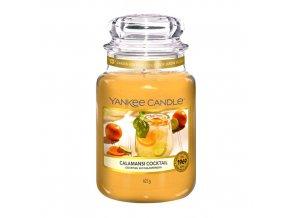 Vonná svíčka ve skleněné dóze Calamansi koktejl CALAMANSI COCTAIL, 623 g