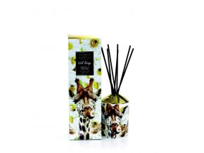 Aroma difuzér WILD THINGS NEROLI & MANDARIN & AMBER (neroli, mandarinka, amber) YOU´RE HAVING A GIRAFFE, 200 ml.