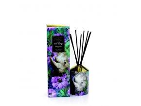 Aroma difuzér WILD THINGS VIOLET & IRIS (fialka a iris), 200 ml, RHINO SAW US, 200 ml.