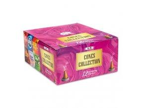 Vonné kužely Cones Collection MIX vůní, 12 x 20 g
