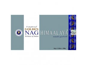 Vijayshree - Vonné tyčinky - Golden Nag - Himaalaya, 15 g