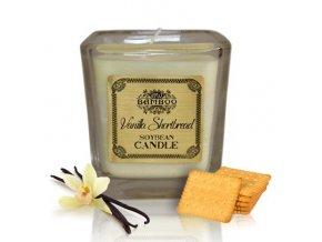 Sojová vonná svíčka Vanilkové Sušenky, 200 g