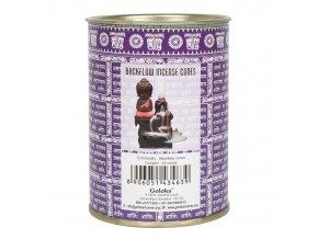 Vonné kužely tekoucí dým Goloka Lavender, 24 ks
