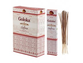 Goloka Masala Saffron Vonné tyčinky, 15 g
