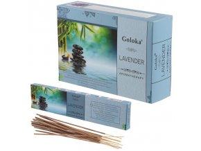 Goloka Aromatherapy Lavender Vonné tyčinky, 15 g