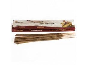 Aromatika Vedic Vonné tyčinky Santalové dřevo, 15 g