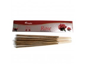Aromatika Vedic Vonné tyčinky Růže, 15 g