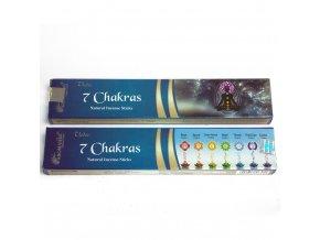 Aromatika Vedic Vonné tyčinky 7 Chaker, 15 g