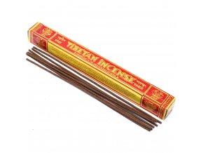 Tibetian Incense Vonné tyčinky Tasi Tagge žlutá, 44 ks