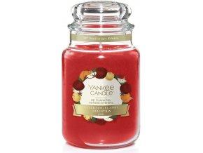 Yankee Candle Classic velký Vonná svíčka Be Thankful Limitovaná edice, 623 g