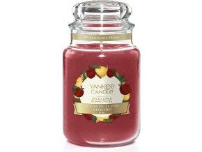 Yankee Candle Classic velký Vonná svíčka Spiced Apple Limitovaná edice, 623 g