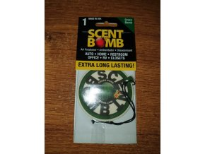 Scent Bomb Osvěžovač vzduchu papírová visačka Green Bomb, 1 ks