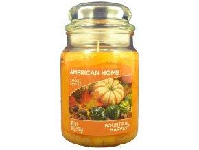 Yankee Candle AMERICAN HOME Vonná svíčka Bountiful Harvest, 538 g.