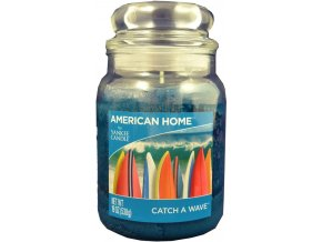 Yankee Candle AMERICAN HOME Vonná svíčka Catch a wave, 538 g.