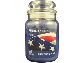 Yankee Candle AMERICAN HOME Vonná svíčka Freedoms Flag, 538 g.