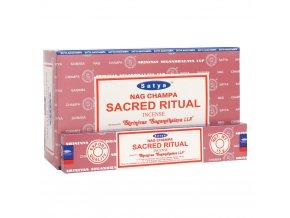Shrinivas Satya Vonné tyčinky Sacred Ritual, 15 g