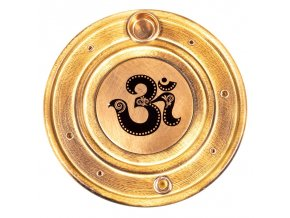 Stojánek na vonné tyčinky a kužely OHM Indický jilm, 10 cm