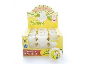 Aroma Wax Melts White Jasmine Vonný vosk bílý jasmín, 22 g