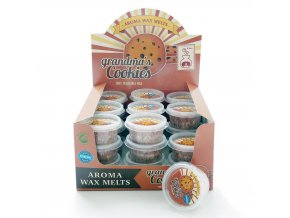 Aroma Wax Melts Grandma's Cookies Babiččiny sušenky, 22 g