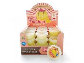 Aroma Wax Melts Vanilla Pudding Vanilkový pudink, 22 g