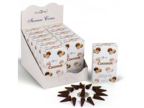 Stamford Premium Vonné kužely Coconut Kokos, 15 ks