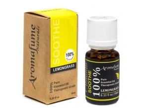Aromafume Natural Essential Oil Lemongrass Citronová tráva, 10 ml