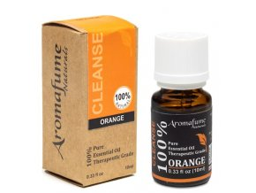 Aromafume Natural Essential Oil Orange Pomeranč, 10 ml