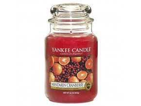 Yankee Candle - Mandarin Cranberry - Vonná svíčka, 623 g