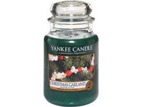 Yankee Candle Christmas Garland Vonná svíčka, 623 g