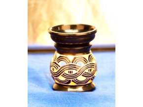 Mani Bhadra Keltský uzel modrá Aroma lampa Mastek, 8,5 x 6,5 cm