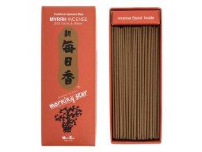 Nippon Kodo Morning Star Myrrh Vonné tyčinky, BOX 200 ks