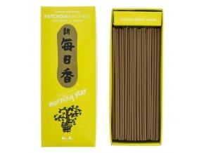 Nippon Kodo Morning Star Patchouli Vonné tyčinky, BOX 200 ks