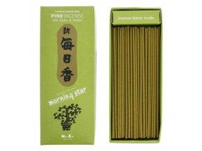 Nippon Kodo Morning Star Pine Borovice Vonné tyčinky, BOX 200 ks