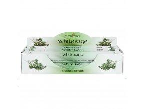 Elements Vonné tyčinky White Sage Bílá šalvěj, 20 ks 1