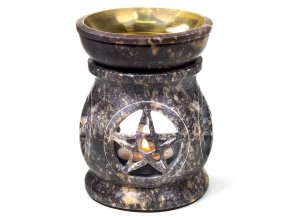 Aroma lampa mastek Pentagram, 11 x 9 cm