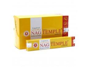 Vijayshree Vonné tyčinky Golden Nag Temple Chrám, 15 g