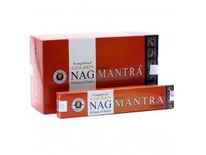 Vijayshree Vonné tyčinky Golden Nag Mantra, 15 g