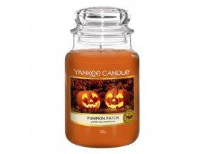 Yankee Candle Classic velký Vonná svíčka Pumpkin Patch, 623 g