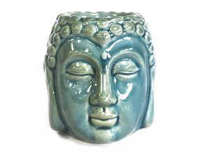 Ancient Wisdom Aroma lampa Buddha Modrá, 9 x 7 x 7 cm