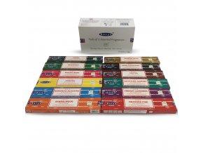 Shrinivas Satya Vonné tyčinky BOX MIX vůní, 12 x 15 g