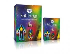 Green Tree Reiki Energy Vonné kužely Tekoucí dým, 12 ks
