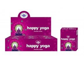 Green Tree Happy Yoga Vonné kužely, 10 ks