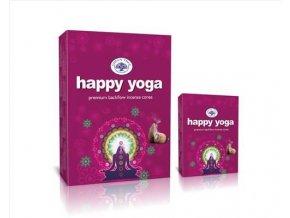 Green Tree Happy Yoga Vonné kužely Tekoucí dým, 12 ks